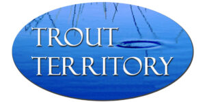 Trout Territory Fish Wild Tasmania Logo