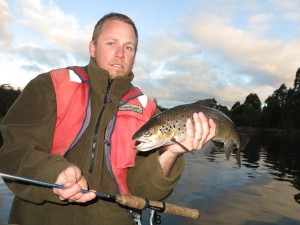Kyl with a Four Springs wild trout